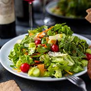 Preferimos saladas e legumes