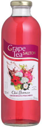 Grape Tea Chá Branco com Uva Moscato, Pitaia e Hibisco