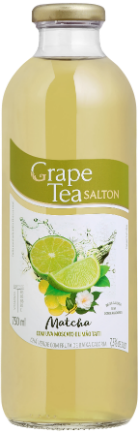 Grape Tea Matcha com Uva Moscato e Limão Taiti