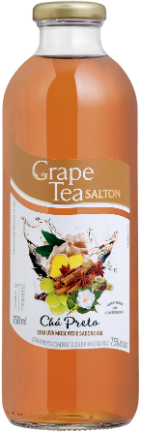 Grape Tea Chá Preto com Uva Moscato e sabor Chai